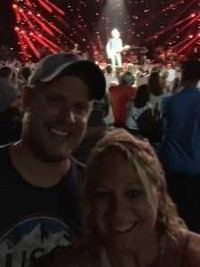 Danielle attended Brad Paisley Tour 2019 - Country on Jun 28th 2019 via VetTix