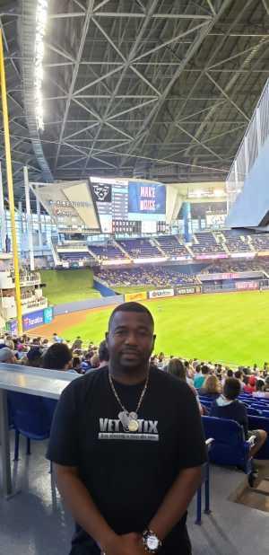 Wesley attended Miami Marlins vs. Pittsburgh Pirates - MLB on Jun 16th 2019 via VetTix