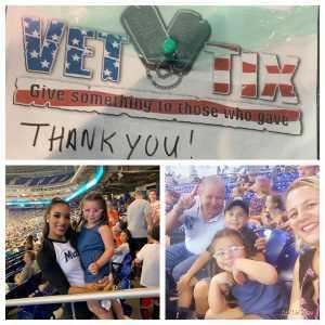 Elisa attended Miami Marlins vs. Pittsburgh Pirates - MLB on Jun 16th 2019 via VetTix