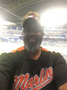 Vaughn attended Miami Marlins vs. Pittsburgh Pirates - MLB on Jun 16th 2019 via VetTix