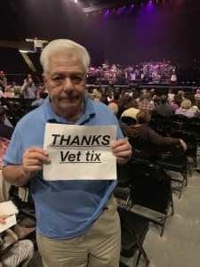 Anthony attended Josh Groban: Bridges Tour W/jennifer Nettles - Adult Contemporary on Jun 15th 2019 via VetTix