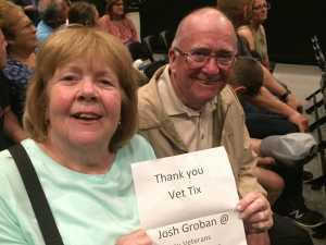 James attended Josh Groban: Bridges Tour W/jennifer Nettles - Adult Contemporary on Jun 15th 2019 via VetTix