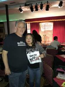 christopher attended The Comedy Palace - Saturday 9: 30pm - 18+ on Jun 22nd 2019 via VetTix