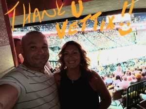 Frankie attended Connecticut Sun vs. Phoenix Mercury - WNBA - Basketball on Jul 12th 2019 via VetTix