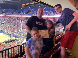 Jason attended Connecticut Sun vs. Phoenix Mercury - WNBA - Basketball on Jul 12th 2019 via VetTix