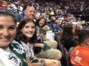 Stephen attended Connecticut Sun vs. Phoenix Mercury - WNBA - Basketball on Jul 12th 2019 via VetTix