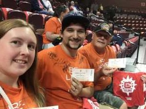 Paul attended Connecticut Sun vs. Phoenix Mercury - WNBA - Basketball on Jul 12th 2019 via VetTix
