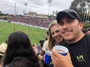 Rachel attended San Diego Legion vs Seattle Seawolves - MLR on Jun 16th 2019 via VetTix