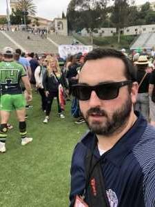 Nathan attended San Diego Legion vs Seattle Seawolves - MLR on Jun 16th 2019 via VetTix