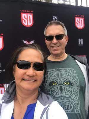 KEVIN attended San Diego Legion vs Seattle Seawolves - MLR on Jun 16th 2019 via VetTix