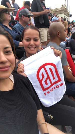 Khadija  attended San Diego Legion vs Seattle Seawolves - MLR on Jun 16th 2019 via VetTix