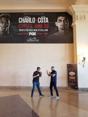 Raul attended Jermell Charlo vs. Jorge Cota - Premier Boxing Champions on Jun 23rd 2019 via VetTix