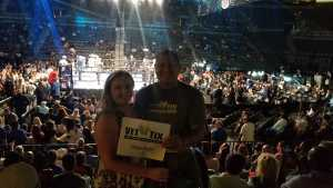 Jose  attended Jermell Charlo vs. Jorge Cota - Premier Boxing Champions on Jun 23rd 2019 via VetTix