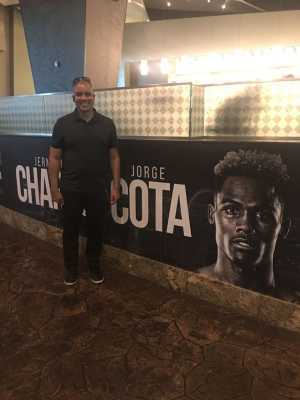 Anthony attended Jermell Charlo vs. Jorge Cota - Premier Boxing Champions on Jun 23rd 2019 via VetTix
