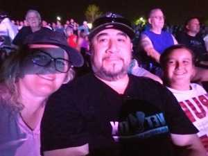 Mel Lo attended Hootie & the Blowfish: Group Therapy Tour - Pop on Jun 19th 2019 via VetTix