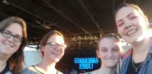Jessica attended Hootie & the Blowfish: Group Therapy Tour - Pop on Jun 19th 2019 via VetTix