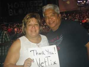 Jose attended Hootie & the Blowfish: Group Therapy Tour - Pop on Jun 19th 2019 via VetTix