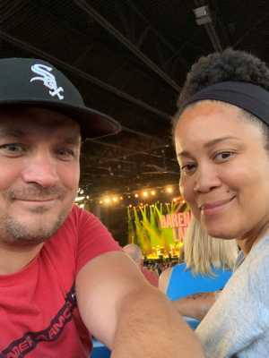 Cameron attended Hootie & the Blowfish: Group Therapy Tour - Pop on Jun 19th 2019 via VetTix