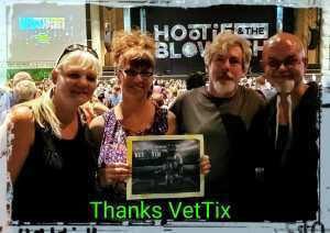 Sorex attended Hootie & the Blowfish: Group Therapy Tour - Pop on Jun 19th 2019 via VetTix