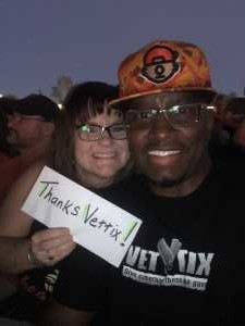 Darius attended Hootie & the Blowfish: Group Therapy Tour - Pop on Jun 19th 2019 via VetTix