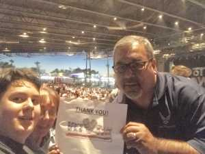 Ricardo attended Hootie & the Blowfish: Group Therapy Tour - Pop on Jun 19th 2019 via VetTix