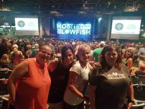 Evelyn attended Hootie & the Blowfish: Group Therapy Tour - Pop on Jun 19th 2019 via VetTix