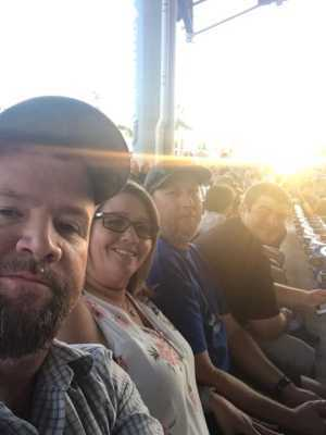 James attended Hootie & the Blowfish: Group Therapy Tour - Pop on Jun 19th 2019 via VetTix