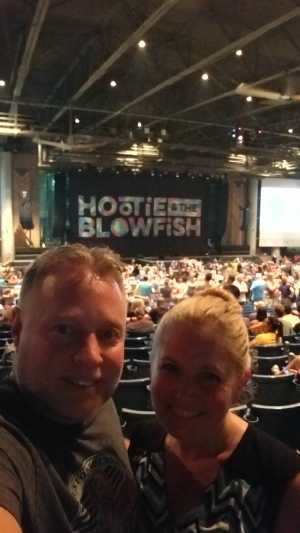 Jeffery attended Hootie & the Blowfish: Group Therapy Tour - Pop on Jun 19th 2019 via VetTix