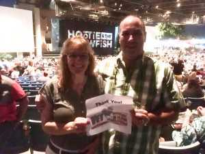 Rob attended Hootie & the Blowfish: Group Therapy Tour - Pop on Jun 19th 2019 via VetTix