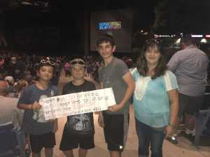 Matthew attended Hootie & the Blowfish: Group Therapy Tour - Pop on Jun 19th 2019 via VetTix
