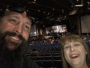 Jeremy E. attended Hootie & the Blowfish: Group Therapy Tour - Pop on Jun 19th 2019 via VetTix