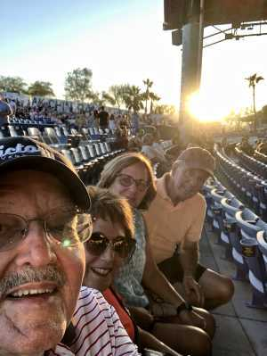 Christopher attended Hootie & the Blowfish: Group Therapy Tour - Pop on Jun 19th 2019 via VetTix