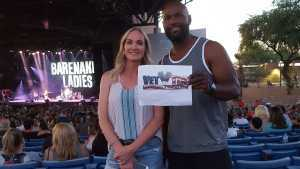 Justine attended Hootie & the Blowfish: Group Therapy Tour - Pop on Jun 19th 2019 via VetTix