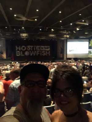 Gerald attended Hootie & the Blowfish: Group Therapy Tour - Pop on Jun 19th 2019 via VetTix