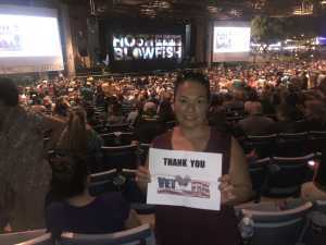 Christina attended Hootie & the Blowfish: Group Therapy Tour - Pop on Jun 19th 2019 via VetTix