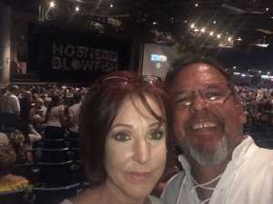 Kelly attended Hootie & the Blowfish: Group Therapy Tour - Pop on Jun 19th 2019 via VetTix