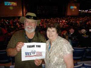 Florian attended Hootie & the Blowfish: Group Therapy Tour - Pop on Jun 19th 2019 via VetTix