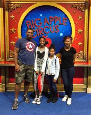 Reggie Romain attended Big Apple Circus - Philadelphia - Circus on Jun 15th 2019 via VetTix