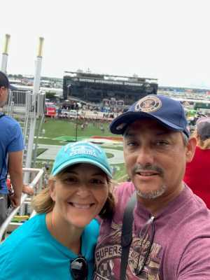 Daniel attended Coke Zero Sugar 400 - Monster Energy NASCAR Cup Series on Jul 6th 2019 via VetTix