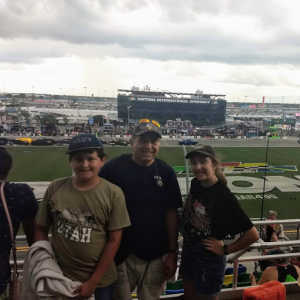 Sergio attended Coke Zero Sugar 400 - Monster Energy NASCAR Cup Series on Jul 6th 2019 via VetTix