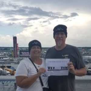 Terry attended Coke Zero Sugar 400 - Monster Energy NASCAR Cup Series on Jul 6th 2019 via VetTix