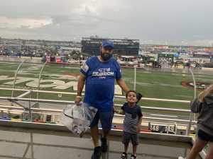 Geovanie attended Coke Zero Sugar 400 - Monster Energy NASCAR Cup Series on Jul 6th 2019 via VetTix