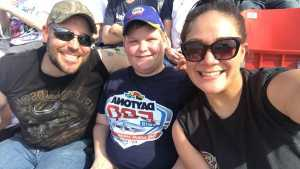 Ana attended Coke Zero Sugar 400 - Monster Energy NASCAR Cup Series on Jul 6th 2019 via VetTix