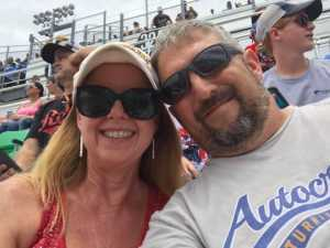 Thomas attended Coke Zero Sugar 400 - Monster Energy NASCAR Cup Series on Jul 6th 2019 via VetTix