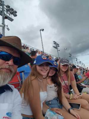 Steve attended Coke Zero Sugar 400 - Monster Energy NASCAR Cup Series on Jul 6th 2019 via VetTix