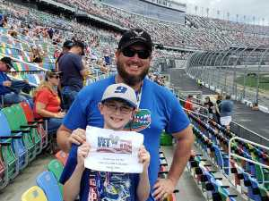 Adam attended Coke Zero Sugar 400 - Monster Energy NASCAR Cup Series on Jul 6th 2019 via VetTix