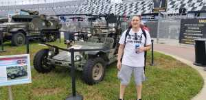 Anthony attended Coke Zero Sugar 400 - Monster Energy NASCAR Cup Series on Jul 6th 2019 via VetTix