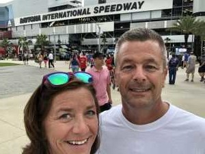 Curt attended Coke Zero Sugar 400 - Monster Energy NASCAR Cup Series on Jul 6th 2019 via VetTix