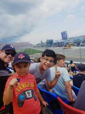 Fernando attended Coke Zero Sugar 400 - Monster Energy NASCAR Cup Series on Jul 6th 2019 via VetTix