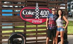 Nick attended Coke Zero Sugar 400 - Monster Energy NASCAR Cup Series on Jul 6th 2019 via VetTix